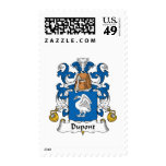 Dupont Family Crest Postage Stamps