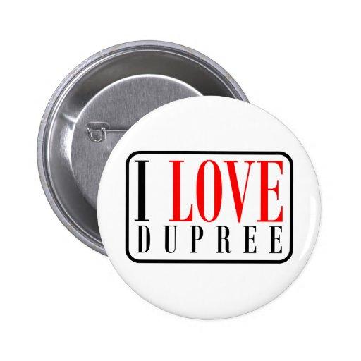 Dupree, Alabama 2 Inch Round Button