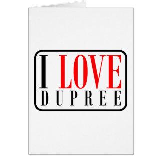 Dupree, Alabama Card