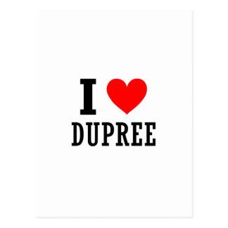 Dupree, Alabama Postcard