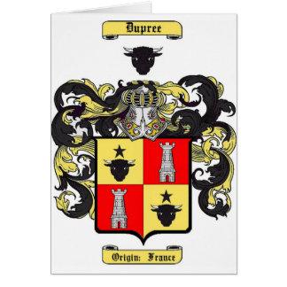 Dupree Card