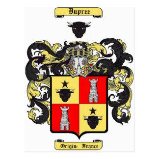 Dupree Postcard
