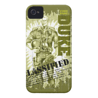 Duque Classified iPhone 4 Case-Mate Carcasas