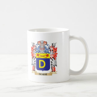 Duque Coat of Arms - Family Crest Coffee Mug