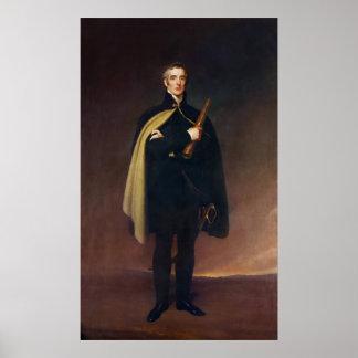 Duque de Arturo Wellesley de Wellington Poster