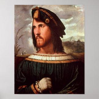 Duque de Cesare Borgia de Valencia Póster