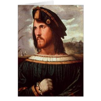Duque de Cesare Borgia de Valencia Tarjeta De Felicitación