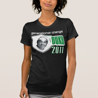 Duque de Donald para el presidente de Nigeria 2011 Playera