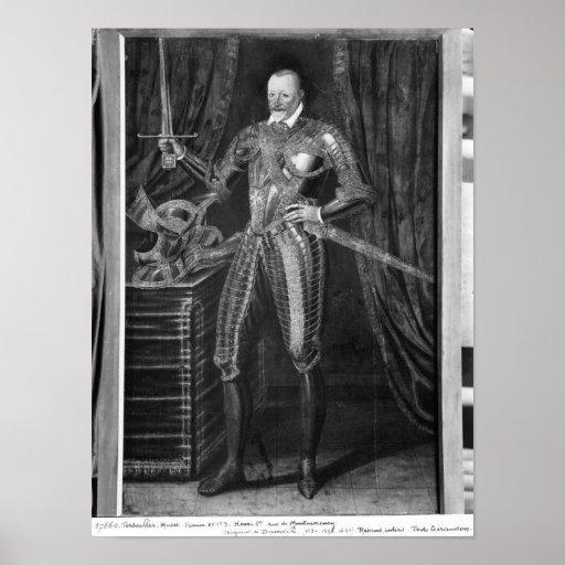 Duque de Enrique I de Montmorency Impresiones