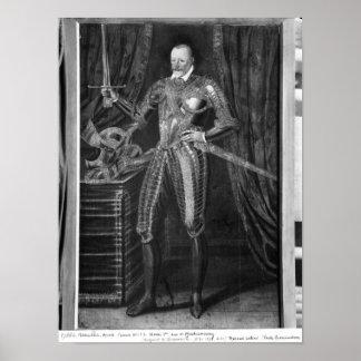 Duque de Enrique I de Montmorency Póster