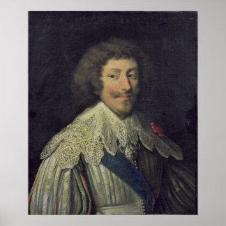 Duque de Enrique II de Montmorency Póster