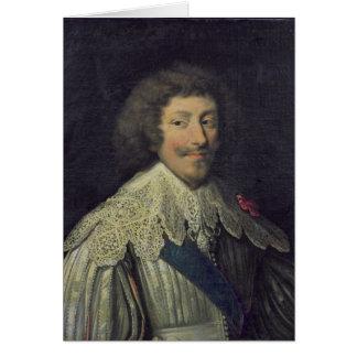 Duque de Enrique II de Montmorency Tarjeta De Felicitación