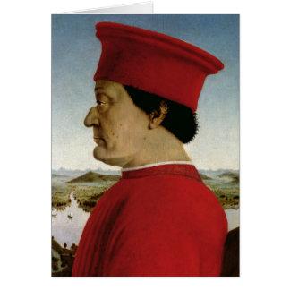 Duque de Federigo DA Montefeltro de Urbino, c.1465 Felicitacion