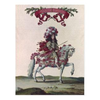 Duque de Felipe I de Orleans Postales