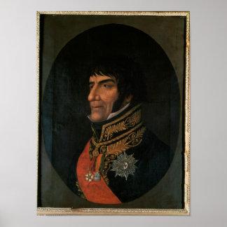 Duque de Francois Lefebvre de Dantzig Póster