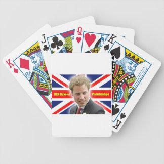 ¡Duque de HRH de Cambridge - atontando! Barajas De Cartas