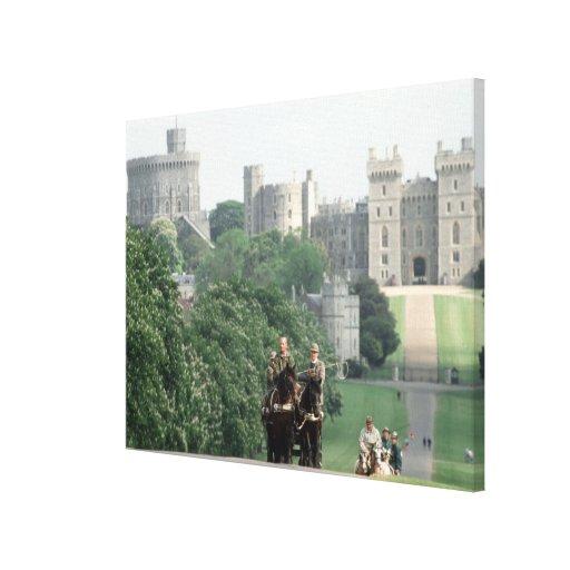 Duque de HRH de Edimburgo 1990 Lona Envuelta Para Galerias