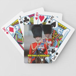 Duque de HRH de Edimburgo Baraja Cartas De Poker