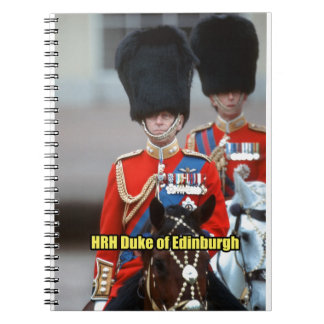 Duque de HRH de Edimburgo Libreta