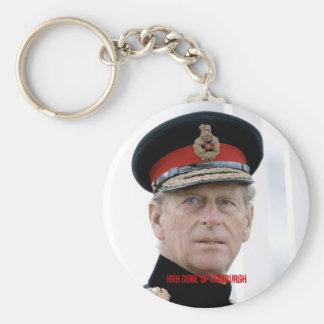 Duque de HRH de Edimburgo Llavero Personalizado