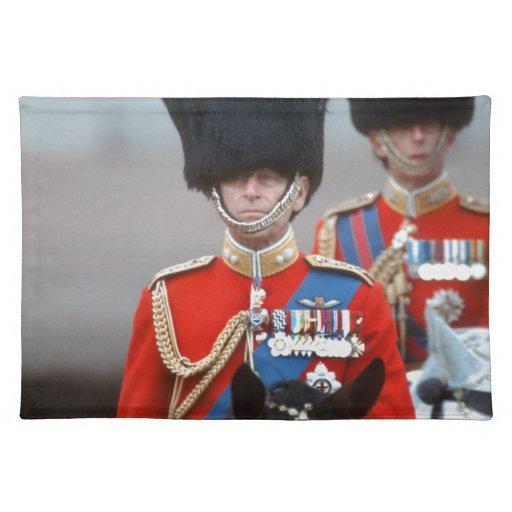 Duque de HRH de Edimburgo Manteles