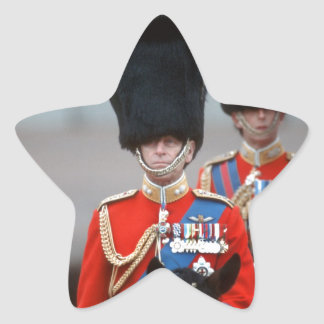 Duque de HRH de Edimburgo Pegatina En Forma De Estrella