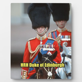 Duque de HRH de Edimburgo Placas Con Foto
