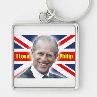 Duque de HRH de Einburgh - amor Philip de I Llaveros Personalizados