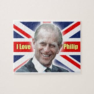 Duque de HRH de Einburgh - amor Philip de I Puzzles