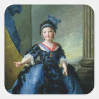Duque de Louis-José-Javier de Francia de Pegatinas Cuadradases