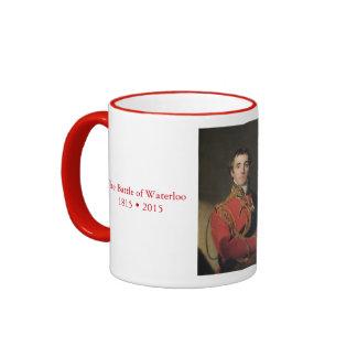 Duque de Wellington Waterloo Taza De Dos Colores