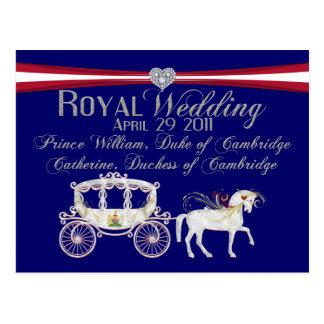 Duque del boda y duquesa reales de Cambridge Postales