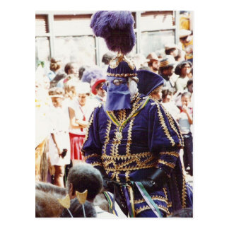 Duque del carnaval postal