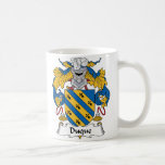 Duque Family Crest Coffee Mug