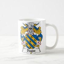Duque Family Crest Mug