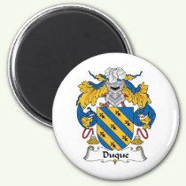 Duque Family Crest Magnet