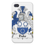 Duque Family Crest iPhone 4/4S Carcasas