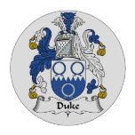 Duque Family Crest Juego De Fichas De Póquer