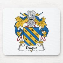 Duque Family Crest Mousepad