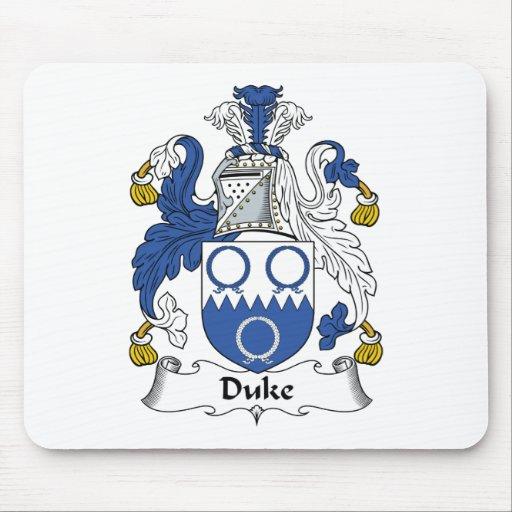 Duque Family Crest Tapetes De Ratones