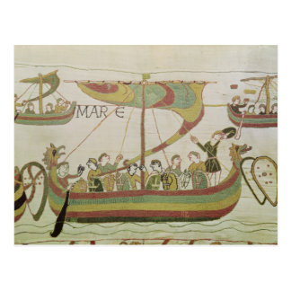 Duque Guillermo de Normandía cruza el mar Tarjetas Postales