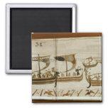 Duque Guillermo y su cruz Pevensey de la flota Imán Cuadrado