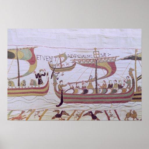 Duque Guillermo y su flota Póster