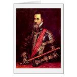 Duque Of Alba By Titian Tarjeta