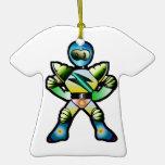 Duque Quantum T-Shirt Ornament del super héroe Adornos