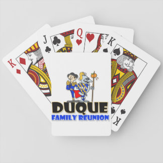 Duque Reunion 2015 Playing Cards
