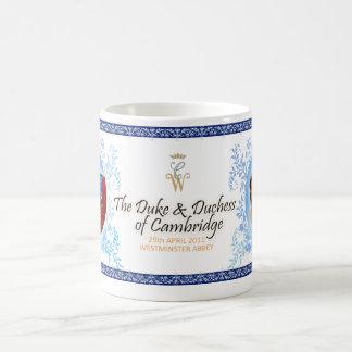 Duque y duquesa de la taza real del boda de Cambri