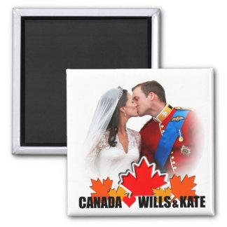 Duque y duquesa del imán de Cambridge Canadá