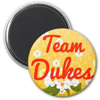 Duques del equipo imán para frigorífico