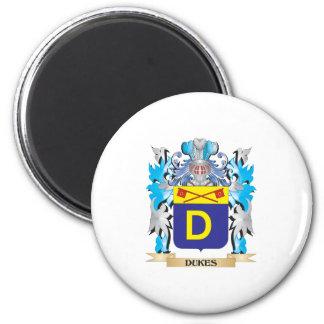 Duques escudo de armas - escudo de la familia imán de frigorífico